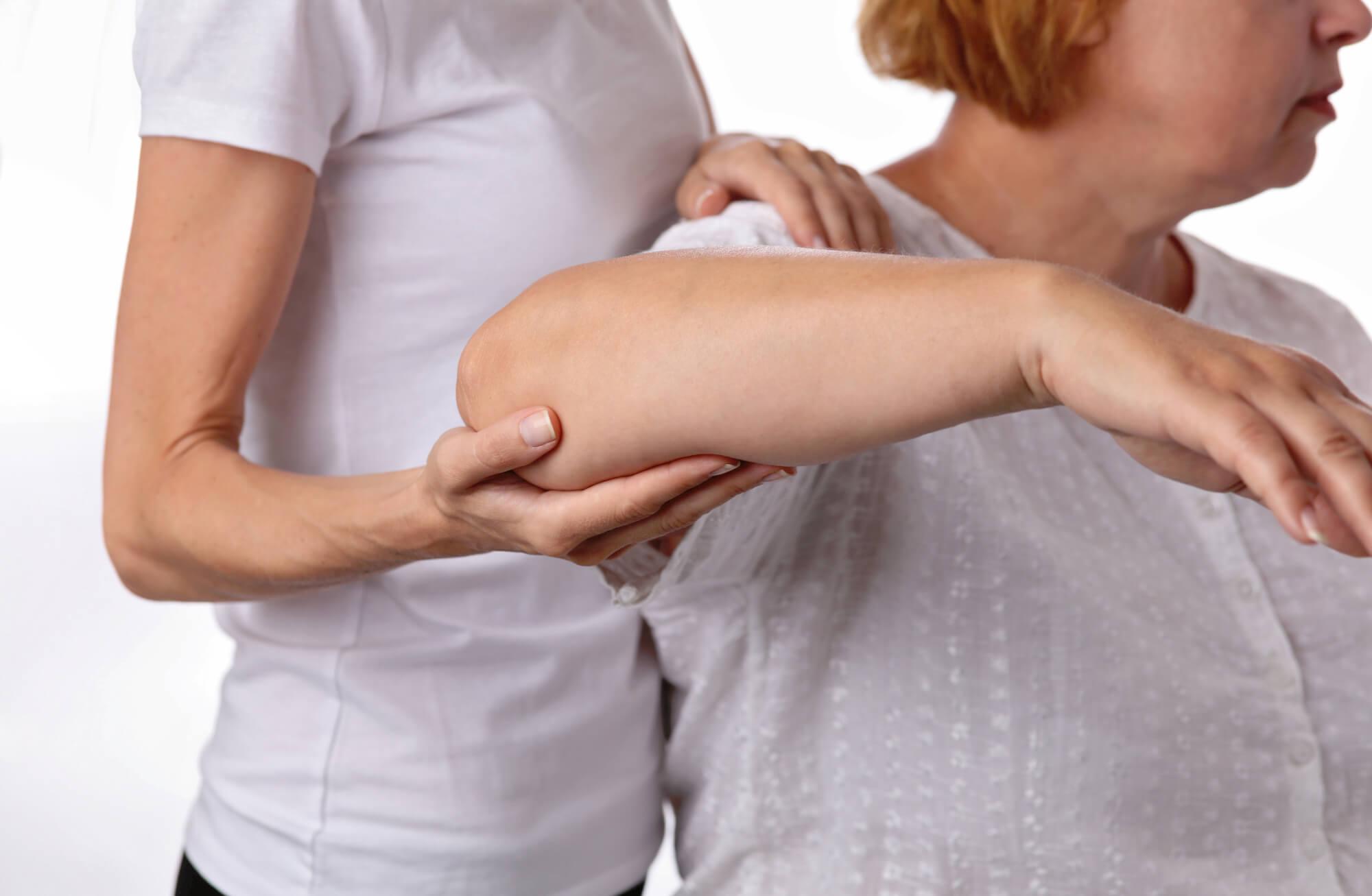 Behandlung aeltere Patientin